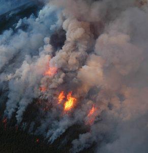 Fire in Alberta