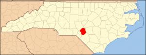 Post Image Credit: I, Dincher, North Carolina Map Highlighting Hoke County, CC BY-SA 3.0